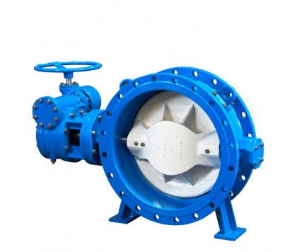 DC Series flanged eccentric butterfly valve