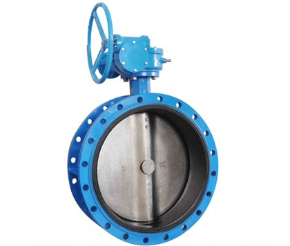 DL Series flanged concentric butterfly valve