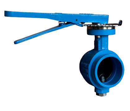 GD Series grooved end butterfly valve