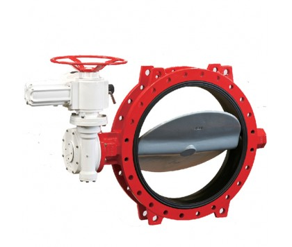 UD Series soft sleeve seated butterfly valve